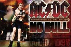 AC/DC poster: No Bull, Spain 1996 concert (36x24) Angus Young