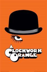 A Clockwork Orange movie poster (24x36) a Stanley Kubrick film