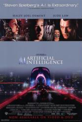 A.I. Artificial Intelligence movie poster [Haley Joel Osment/Jude Law]