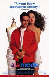 A la Mode movie poster [Ken Higelin] 26x40 video version