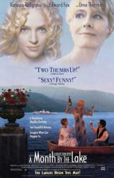 A Month by the Lake movie poster [Uma Thurman/Vanessa Redgrave] video