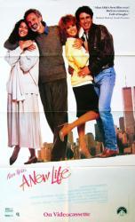 A New Life movie poster [Alan Alda, Ann-Margret, Veronica Hamel] 23x37