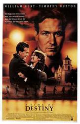 A Time of Destiny movie poster [William Hurt, Timothy Hutton] 27x41