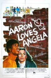 Aaron Loves Angela movie poster (1975) [Kevin Hooks, Irene Cara] 27x41