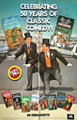 Abbott & Costello movie poster: Celebrating 50 Years of Classic Comedy