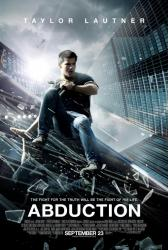 Abduction movie poster [Taylor Lautner] 2011 original one-sheet