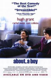 About a Boy movie poster [Hugh Grant, Nicholas Hoult] 27x40