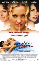 About Adam movie poster [Kate Hudson, Frances O'Connor] 26x40