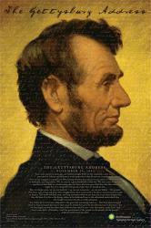 Abraham Lincoln poster: Gettysburg Address (24x36) Smithsonian