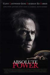 Absolute Power movie poster [Clint Eastwood] 27x40 video version