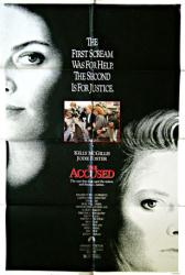 The Accused movie poster [Kelly McGillis & Jodie Foster] 27 X 40