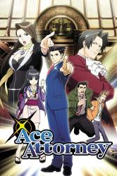 Ace Attorney poster (24x36) Anime Series