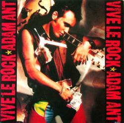 Adam Ant poster: Vive Le Rock vintage LP/album flat (1985)