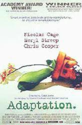 Adaptation movie poster [Nicolas Cage] 27x40 video version