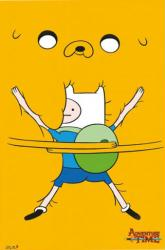Adventure Time with Finn & Jake poster (24 X 36) Bro Hug