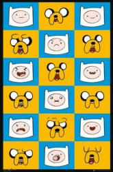 Adventure Time with Finn & Jake poster (24x36) Expressions