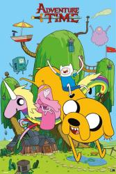 Adventure Time with Finn & Jake poster (24'' X 36'') House