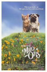 The Adventures of Milo and Otis movie poster (1989) original 27x41