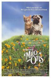 The Adventures of Milo and Otis movie poster (1989) 27x41 Fair