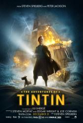 The Adventures of Tintin movie poster [Steven Spielberg] 27 X 40