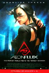 Aeon Flux movie poster [Charlize Theron] 27x40 video version