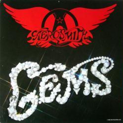 Aerosmith poster: Gems vintage LP/Album flat (1988)
