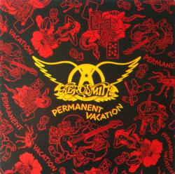Aerosmith poster: Permanent Vacation vintage LP/Album flat (1987)