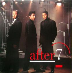 After 7 poster: Vintage LP/Album flat (1989)