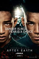 After Earth movie poster [Jaden Smith, Will Smith] 27x40 original