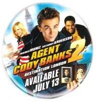 Agent Cody Banks 2: Destination London pinback [Muniz] 2.5'' Button