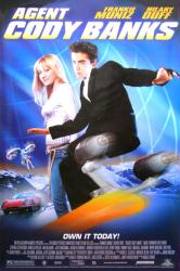 Agent Cody Banks movie poster [Frankie Muniz, Hilary Duff] 27x40 video