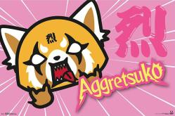 Aggretsuko poster: Horns (34x22) Anime series