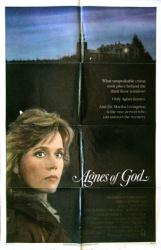 Agnes of God movie poster [Jane Fonda] original 1985 one-sheet