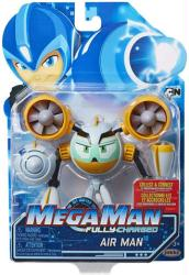 Mega Man Fully-Charged: Air Man action figure (Jakks Pacific)