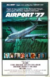 Airport '77 movie poster [Jack Lemmon, James Stewart] 27x41 original