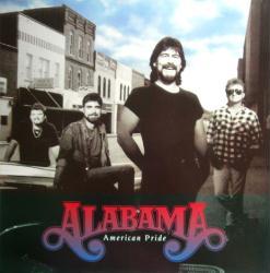 Alabama poster: American Pride vintage LP/Album flat