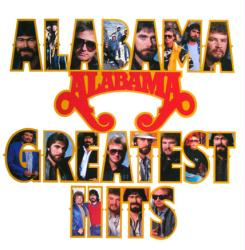Alabama poster: Greatest Hits vintage LP/Album flat