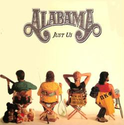 Alabama poster: Just Us vintage LP/Album flat