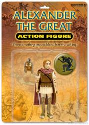 Alexander the Great action figure (Accoutrements/2004)