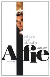 Alfie movie poster [Jude Law] original 27x40 advance