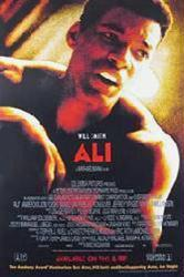 Ali movie poster [Will Smith] (2001) 27x40 video version