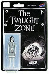 "The Twilight Zone: Alicia 3 3/4"" figure (Bif Bang Pow) B&W"