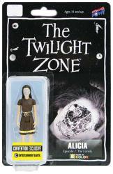 The Twilight Zone: Alicia 3 3/4'' action figure (Color)