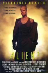 Alien 3 movie poster [Sigourney Weaver] 26x38 video version
