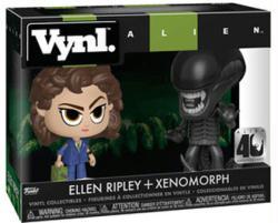 Alien: Ellen Ripley + Xenomorph Vynl figures set (Funko)