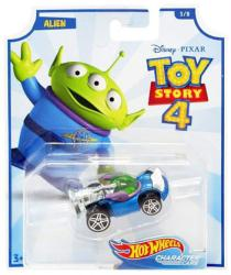 Hot Wheels Character Cars: Toy Story 4 Alien die-cast vehicle