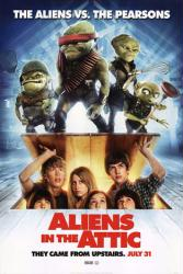 Aliens In the Attic movie poster [Carter Jenkins & Ashley Tisdale]