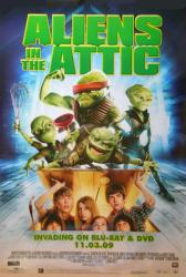 Aliens In the Attic movie poster [2009] DVD release poster
