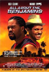 All About the Benjamins movie poster [Ice Cube, Mike Epps] 27x40