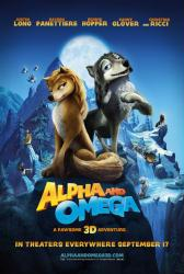 Alpha and Omega movie poster (2010) 27x40 Advance